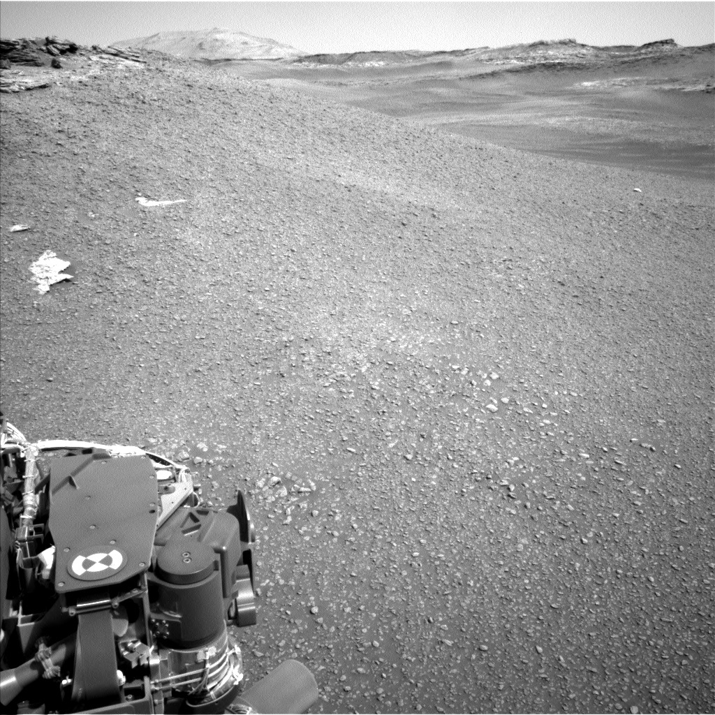 NASA's Mars rover Curiosity acquired this image using its Left Navigation Camera (Navcams) on Sol 2447