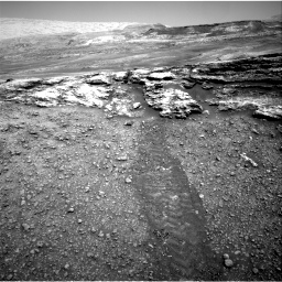 Nasa's Mars rover Curiosity acquired this image using its Right Navigation Camera on Sol 2447, at drive 1006, site number 76