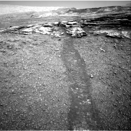 Nasa's Mars rover Curiosity acquired this image using its Right Navigation Camera on Sol 2447, at drive 1012, site number 76