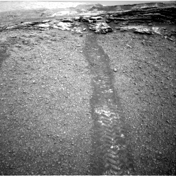 Nasa's Mars rover Curiosity acquired this image using its Right Navigation Camera on Sol 2447, at drive 1018, site number 76