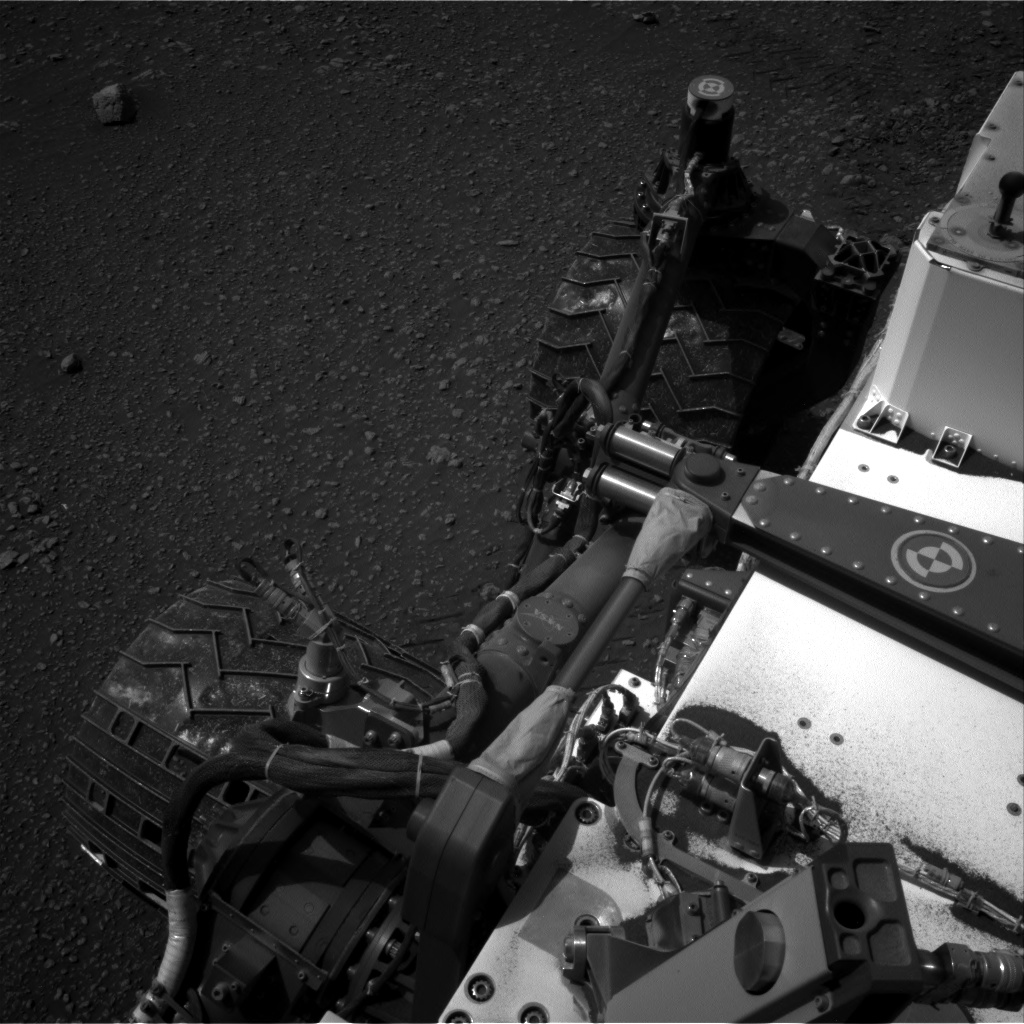 Nasa's Mars rover Curiosity acquired this image using its Right Navigation Camera on Sol 2447, at drive 1072, site number 76