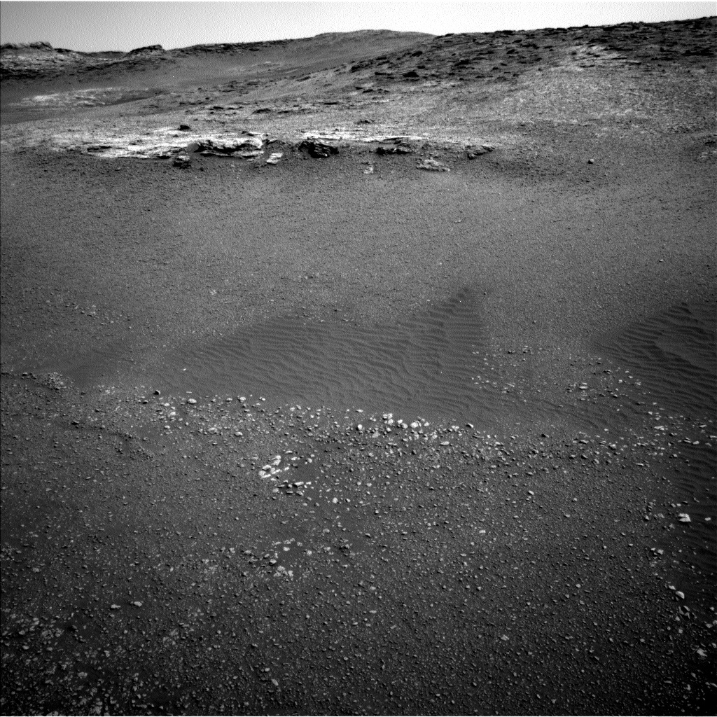 NASA's Mars rover Curiosity acquired this image using its Left Navigation Camera (Navcams) on Sol 2448