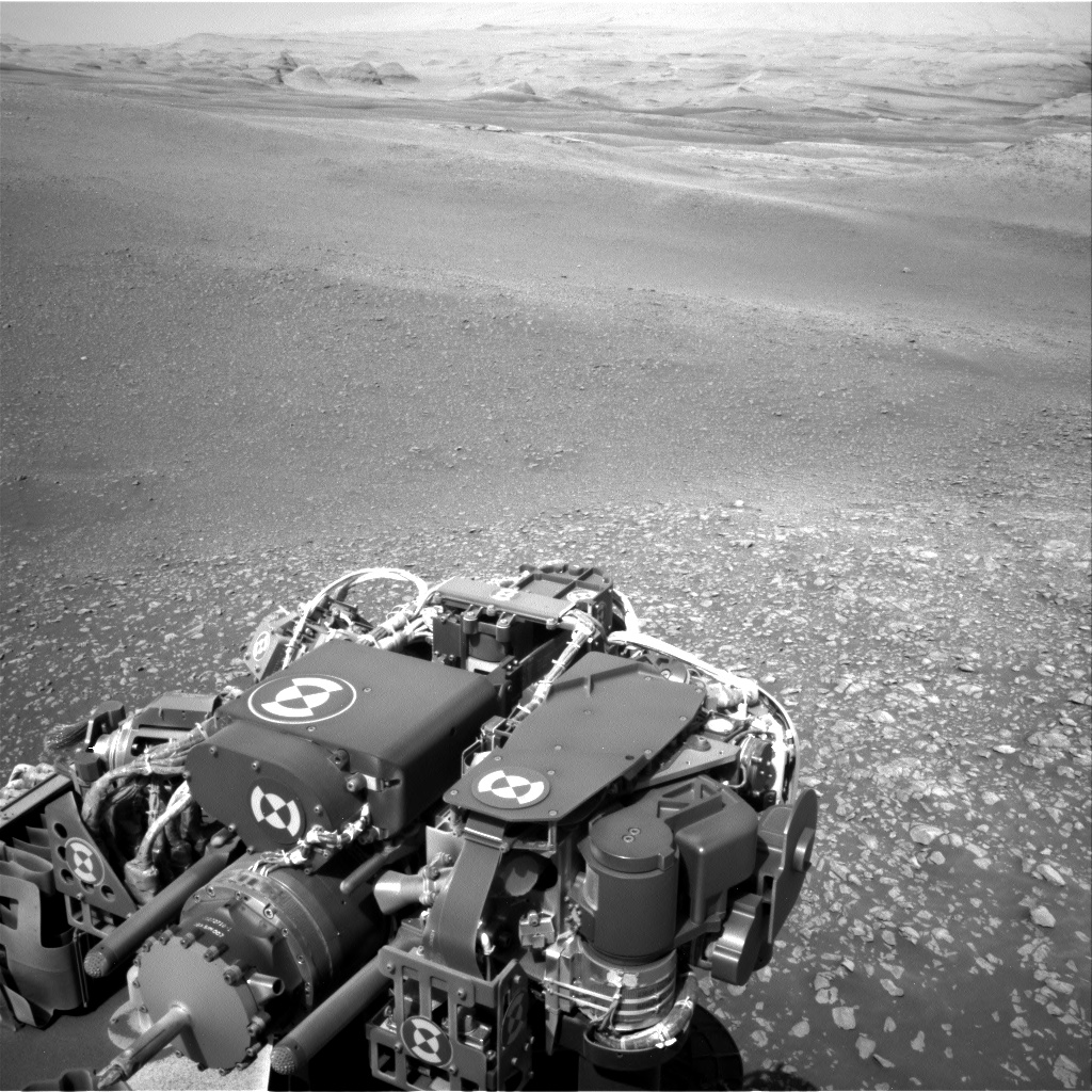 Nasa's Mars rover Curiosity acquired this image using its Right Navigation Camera on Sol 2448, at drive 1300, site number 76
