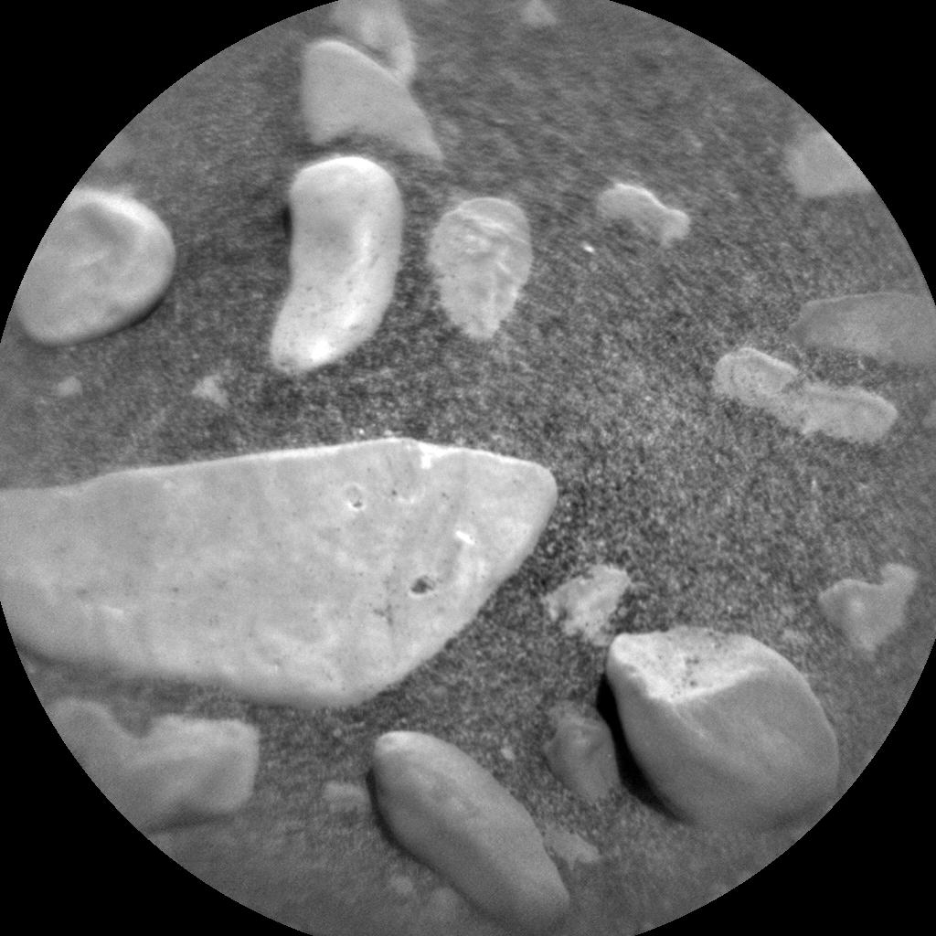 Nasa's Mars rover Curiosity acquired this image using its Chemistry & Camera (ChemCam) on Sol 2448, at drive 1072, site number 76