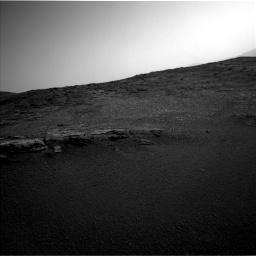 Nasa's Mars rover Curiosity acquired this image using its Left Navigation Camera on Sol 2449, at drive 1342, site number 76
