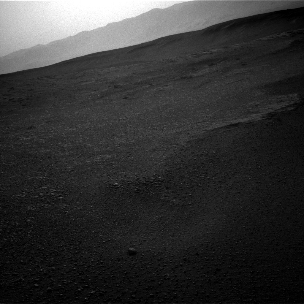 NASA's Mars rover Curiosity acquired this image using its Left Navigation Camera (Navcams) on Sol 2449