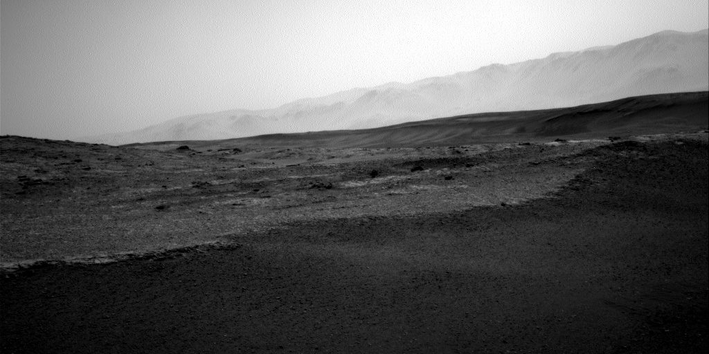 Nasa's Mars rover Curiosity acquired this image using its Right Navigation Camera on Sol 2449, at drive 1300, site number 76