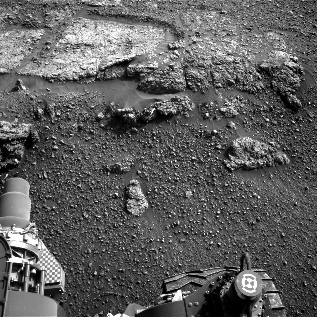 Nasa's Mars rover Curiosity acquired this image using its Right Navigation Camera on Sol 2449, at drive 1384, site number 76