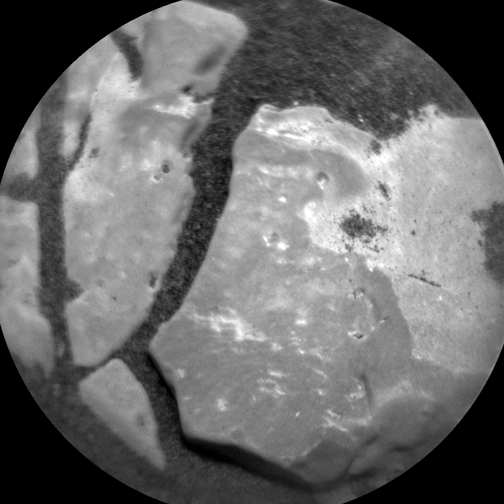 Nasa's Mars rover Curiosity acquired this image using its Chemistry & Camera (ChemCam) on Sol 2449, at drive 1300, site number 76