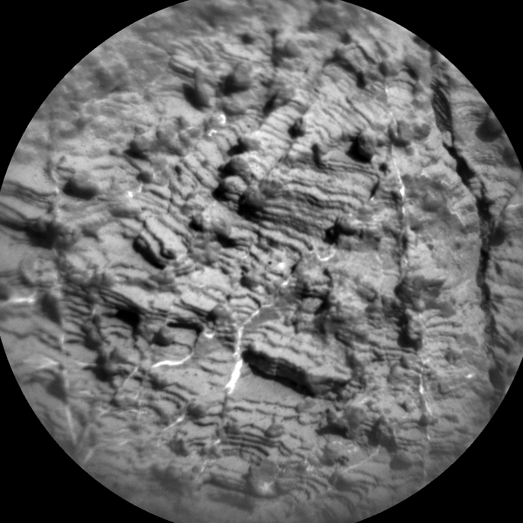 Nasa's Mars rover Curiosity acquired this image using its Chemistry & Camera (ChemCam) on Sol 2450, at drive 1384, site number 76