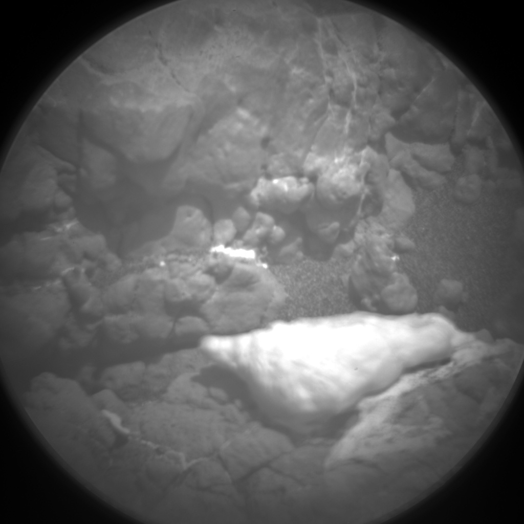 Nasa's Mars rover Curiosity acquired this image using its Chemistry & Camera (ChemCam) on Sol 2452, at drive 1384, site number 76