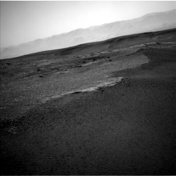 Nasa's Mars rover Curiosity acquired this image using its Left Navigation Camera on Sol 2453, at drive 1396, site number 76