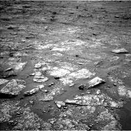 Nasa's Mars rover Curiosity acquired this image using its Left Navigation Camera on Sol 2453, at drive 1558, site number 76