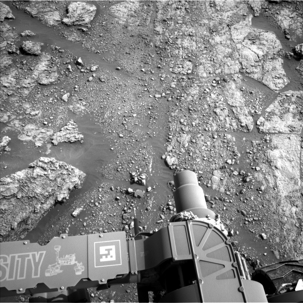 NASA's Mars rover Curiosity acquired this image using its Left Navigation Camera (Navcams) on Sol 2453