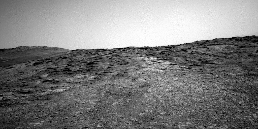Nasa's Mars rover Curiosity acquired this image using its Right Navigation Camera on Sol 2453, at drive 1384, site number 76