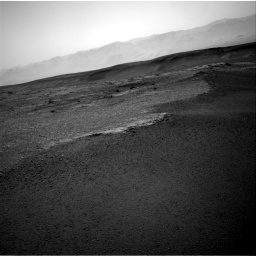 Nasa's Mars rover Curiosity acquired this image using its Right Navigation Camera on Sol 2453, at drive 1396, site number 76