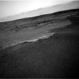 Nasa's Mars rover Curiosity acquired this image using its Right Navigation Camera on Sol 2453, at drive 1408, site number 76