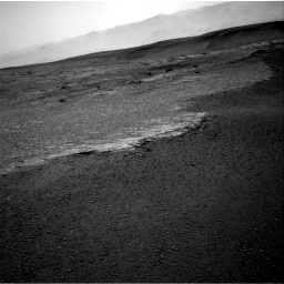Nasa's Mars rover Curiosity acquired this image using its Right Navigation Camera on Sol 2453, at drive 1414, site number 76