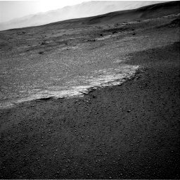 Nasa's Mars rover Curiosity acquired this image using its Right Navigation Camera on Sol 2453, at drive 1426, site number 76