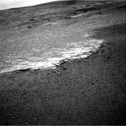 Nasa's Mars rover Curiosity acquired this image using its Right Navigation Camera on Sol 2453, at drive 1432, site number 76