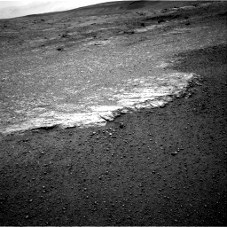 Nasa's Mars rover Curiosity acquired this image using its Right Navigation Camera on Sol 2453, at drive 1438, site number 76