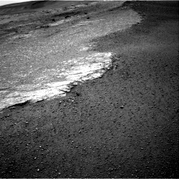 Nasa's Mars rover Curiosity acquired this image using its Right Navigation Camera on Sol 2453, at drive 1444, site number 76