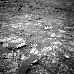 Nasa's Mars rover Curiosity acquired this image using its Right Navigation Camera on Sol 2453, at drive 1552, site number 76