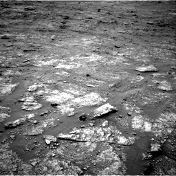 Nasa's Mars rover Curiosity acquired this image using its Right Navigation Camera on Sol 2453, at drive 1558, site number 76