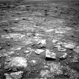 Nasa's Mars rover Curiosity acquired this image using its Right Navigation Camera on Sol 2453, at drive 1570, site number 76