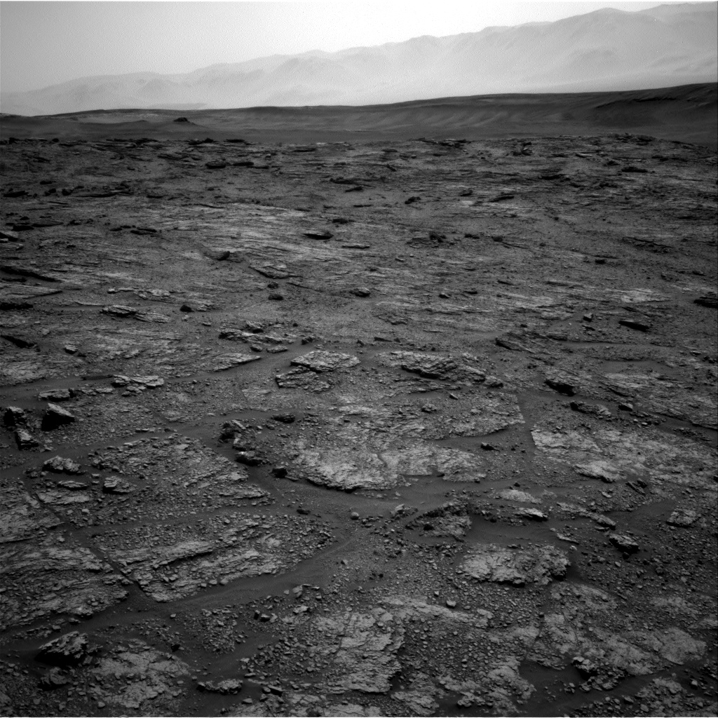 Nasa's Mars rover Curiosity acquired this image using its Right Navigation Camera on Sol 2453, at drive 1576, site number 76