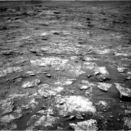 Nasa's Mars rover Curiosity acquired this image using its Right Navigation Camera on Sol 2454, at drive 1576, site number 76