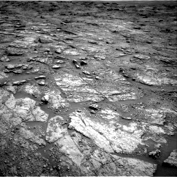 Nasa's Mars rover Curiosity acquired this image using its Right Navigation Camera on Sol 2454, at drive 1588, site number 76