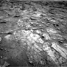 Nasa's Mars rover Curiosity acquired this image using its Right Navigation Camera on Sol 2454, at drive 1594, site number 76