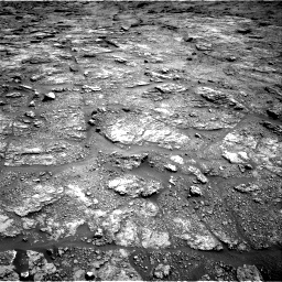 Nasa's Mars rover Curiosity acquired this image using its Right Navigation Camera on Sol 2454, at drive 1612, site number 76
