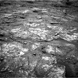 Nasa's Mars rover Curiosity acquired this image using its Right Navigation Camera on Sol 2454, at drive 1642, site number 76