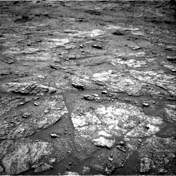 Nasa's Mars rover Curiosity acquired this image using its Right Navigation Camera on Sol 2454, at drive 1654, site number 76