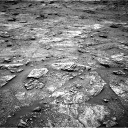 Nasa's Mars rover Curiosity acquired this image using its Right Navigation Camera on Sol 2454, at drive 1660, site number 76