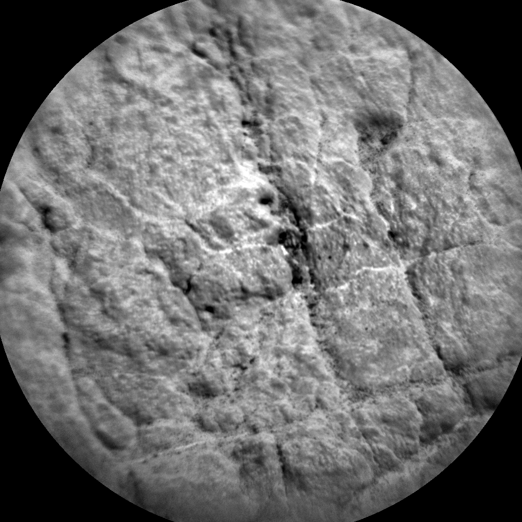 Nasa's Mars rover Curiosity acquired this image using its Chemistry & Camera (ChemCam) on Sol 2454, at drive 1576, site number 76