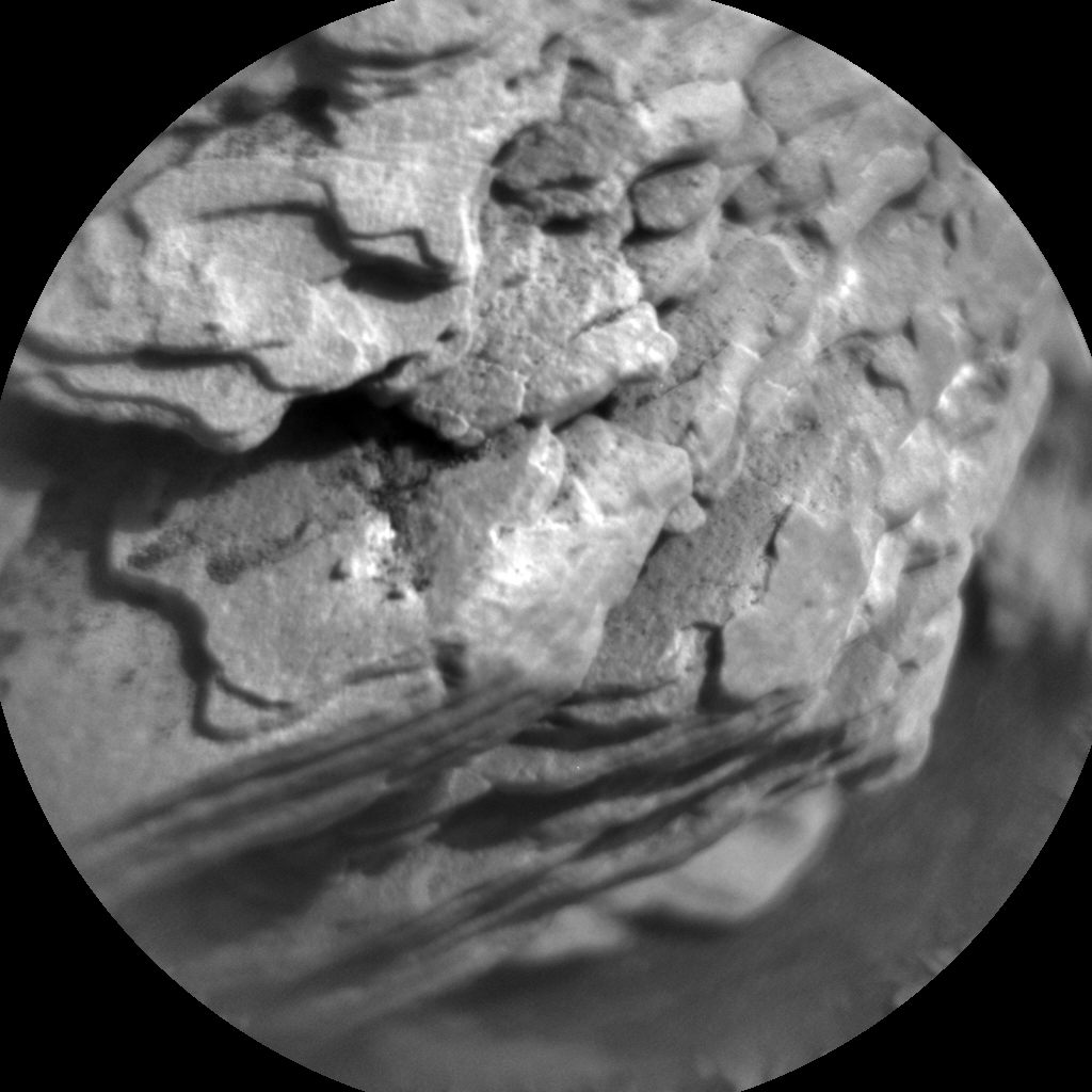 Nasa's Mars rover Curiosity acquired this image using its Chemistry & Camera (ChemCam) on Sol 2457, at drive 1666, site number 76