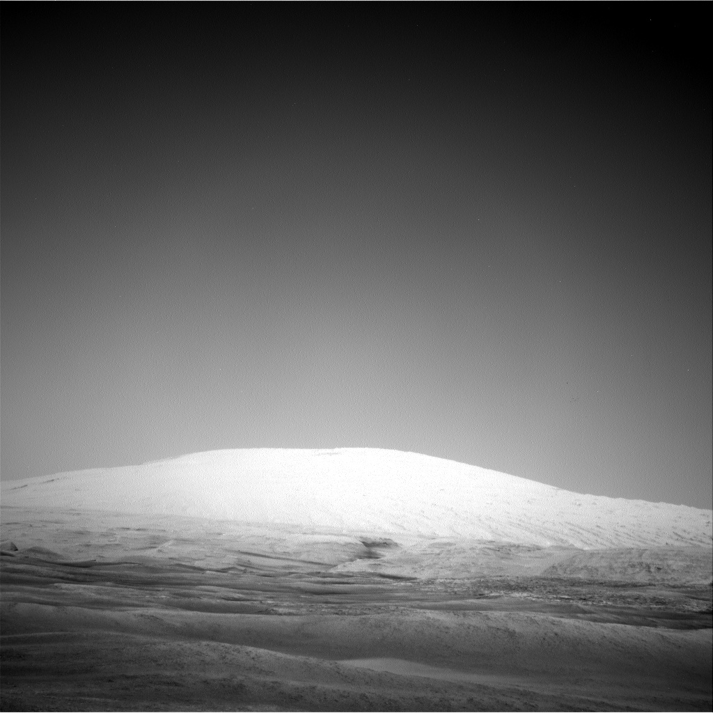 Nasa's Mars rover Curiosity acquired this image using its Right Navigation Camera on Sol 2458, at drive 1666, site number 76