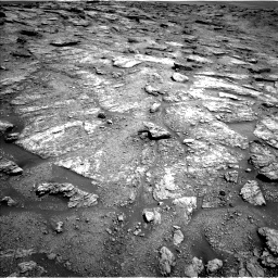 Nasa's Mars rover Curiosity acquired this image using its Left Navigation Camera on Sol 2459, at drive 1696, site number 76