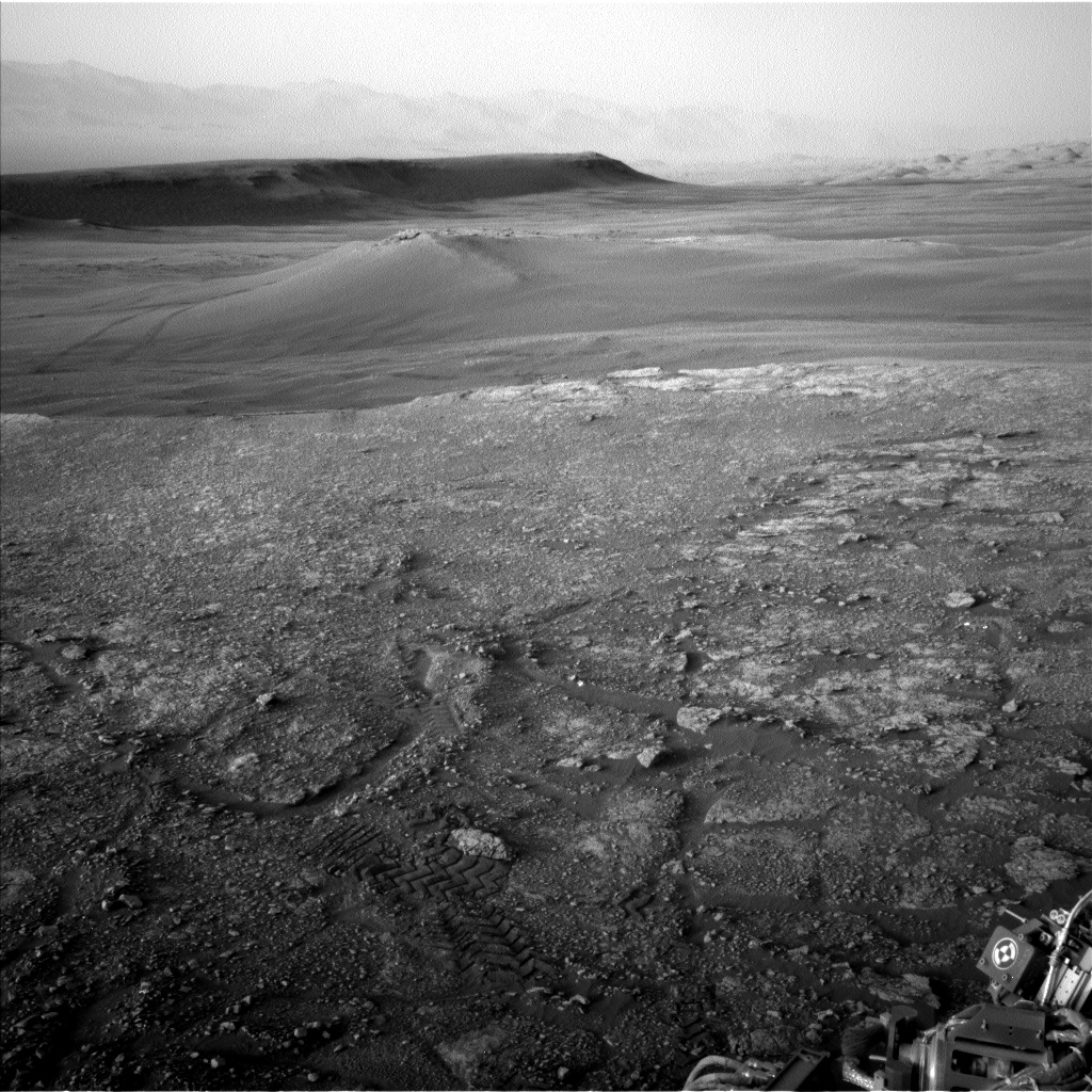 Nasa's Mars rover Curiosity acquired this image using its Left Navigation Camera on Sol 2459, at drive 1714, site number 76