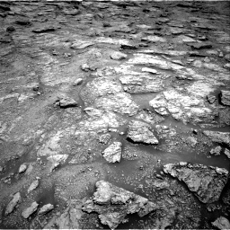 Nasa's Mars rover Curiosity acquired this image using its Right Navigation Camera on Sol 2459, at drive 1678, site number 76