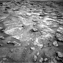 Nasa's Mars rover Curiosity acquired this image using its Right Navigation Camera on Sol 2459, at drive 1702, site number 76