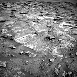 Nasa's Mars rover Curiosity acquired this image using its Right Navigation Camera on Sol 2459, at drive 1708, site number 76