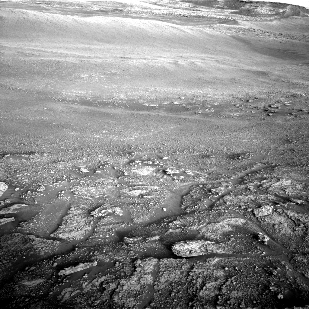 Nasa's Mars rover Curiosity acquired this image using its Right Navigation Camera on Sol 2459, at drive 1714, site number 76