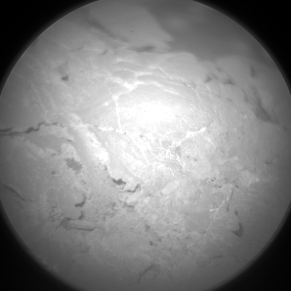 Nasa's Mars rover Curiosity acquired this image using its Chemistry & Camera (ChemCam) on Sol 2461, at drive 1714, site number 76