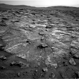 Nasa's Mars rover Curiosity acquired this image using its Left Navigation Camera on Sol 2463, at drive 1720, site number 76