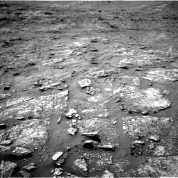 Nasa's Mars rover Curiosity acquired this image using its Left Navigation Camera on Sol 2463, at drive 1732, site number 76
