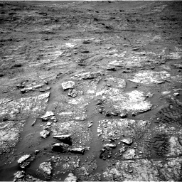 Nasa's Mars rover Curiosity acquired this image using its Right Navigation Camera on Sol 2463, at drive 1732, site number 76